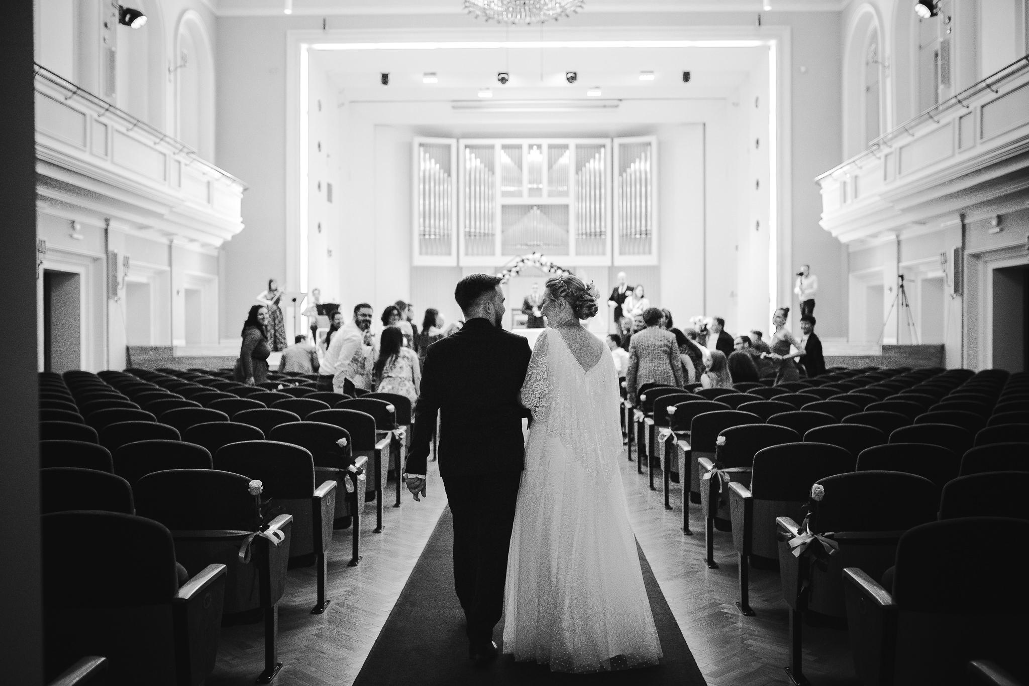 Ślub cywilny w Filharmonii Śląskiej