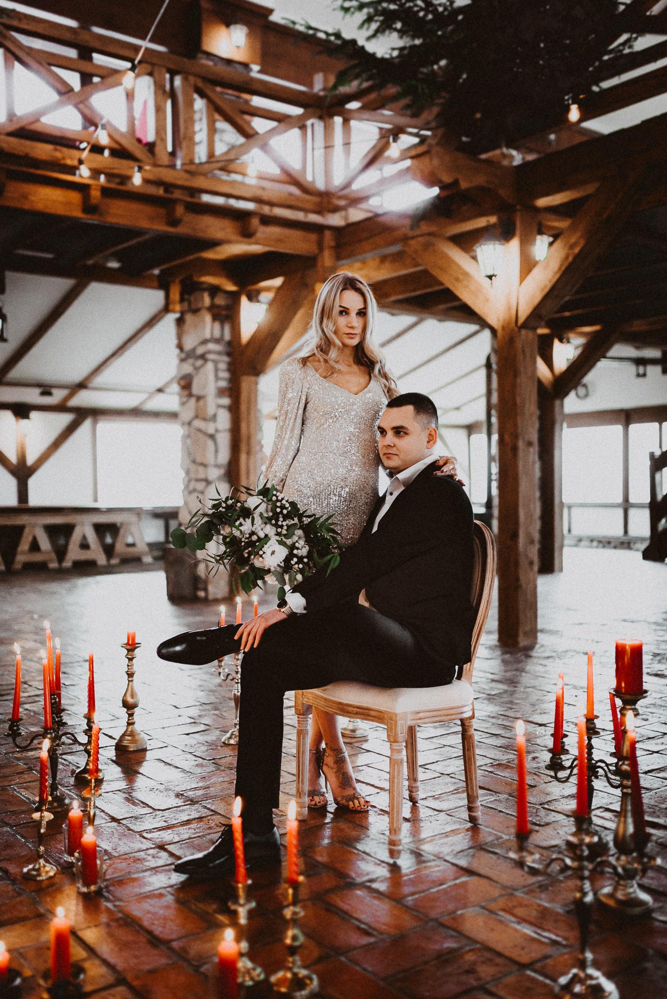 sesja narzeczeńska fotograf ślubny Kraków Love&light